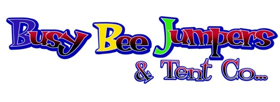 busy bee jumpers and tents logo - high res